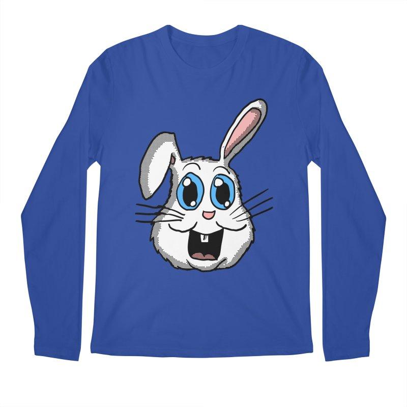 Easter Bunny Head Men's Longsleeve T-Shirt by ericallen's Artist Shop