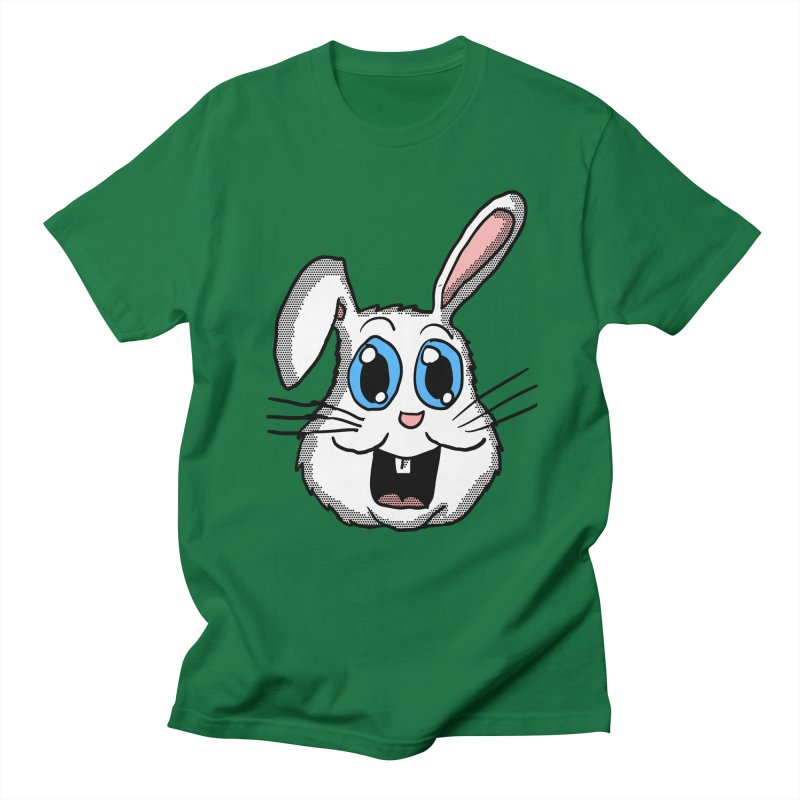 Easter Bunny Head Women's Unisex T-Shirt by ericallen's Artist Shop