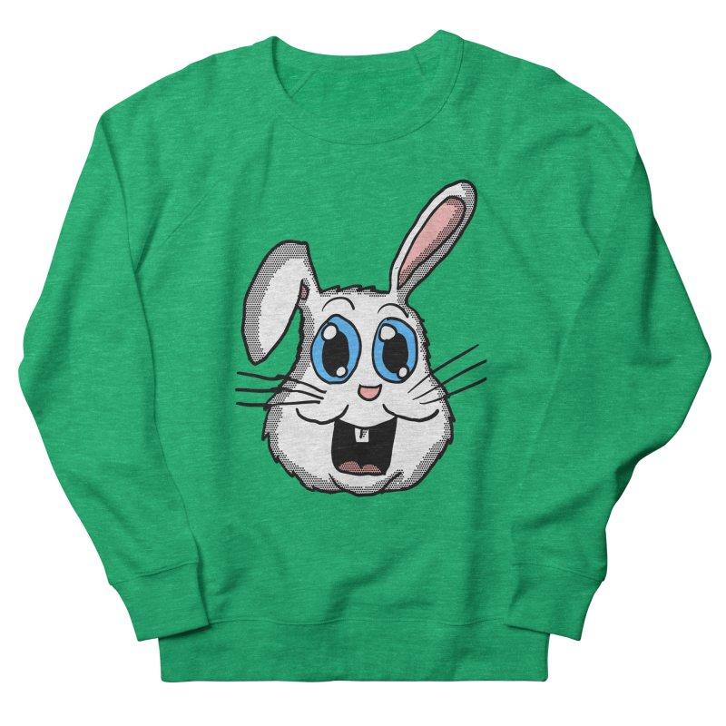 Easter Bunny Head Men's Sweatshirt by ericallen's Artist Shop