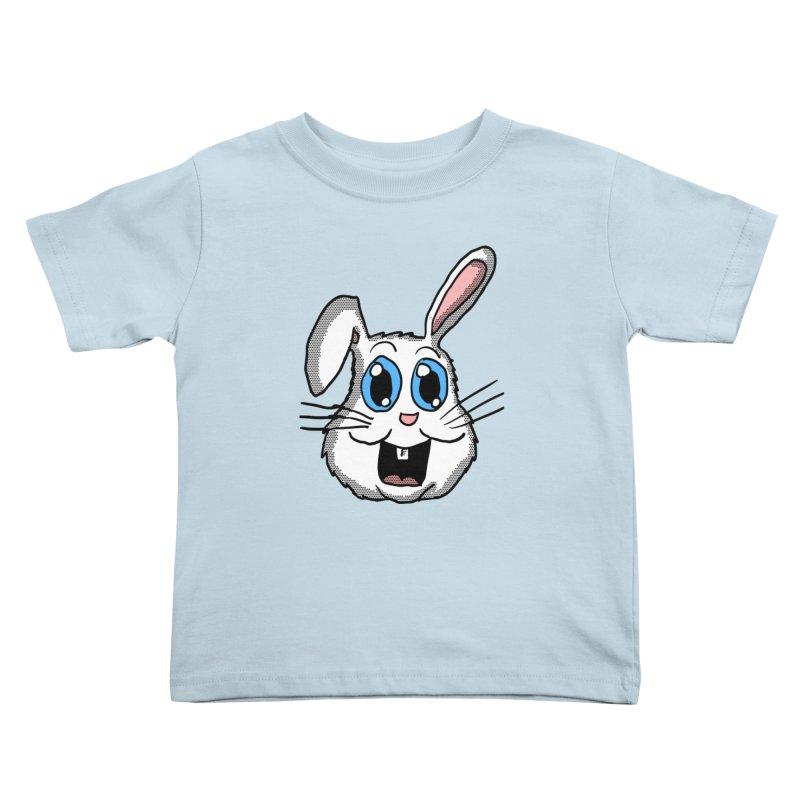 Easter Bunny Head Kids Toddler T-Shirt by ericallen's Artist Shop