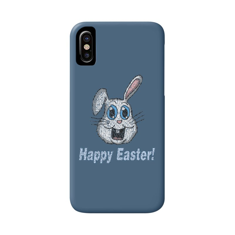 Vintage Happy Easter Bunny Accessories Phone Case by ericallen's Artist Shop