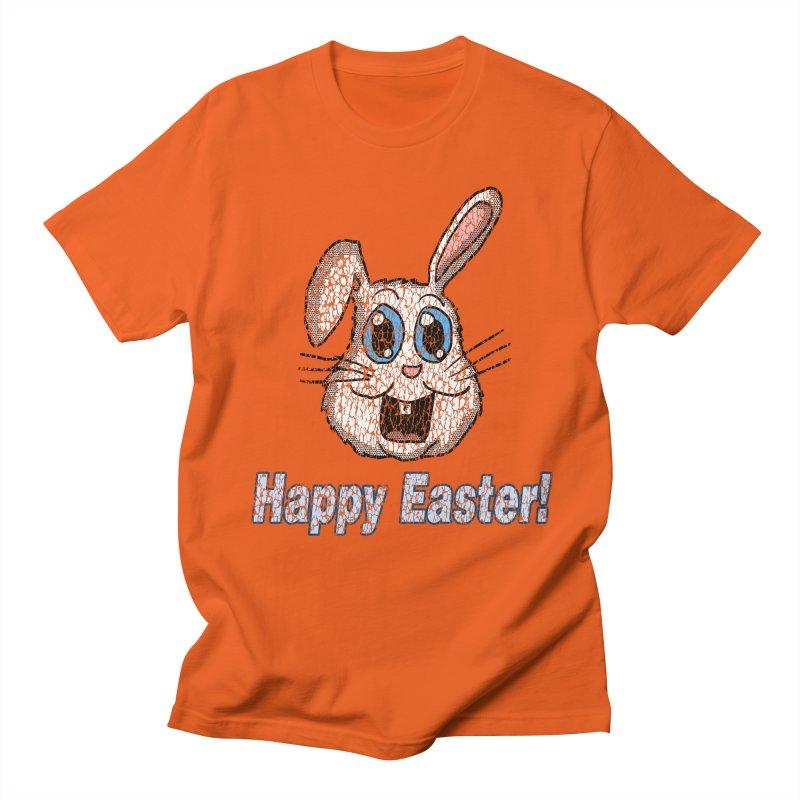 Vintage Happy Easter Bunny Women's Unisex T-Shirt by ericallen's Artist Shop