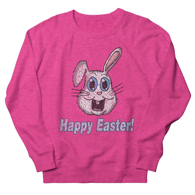 Vintage Happy Easter Bunny Men's Sweatshirt by ericallen's Artist Shop