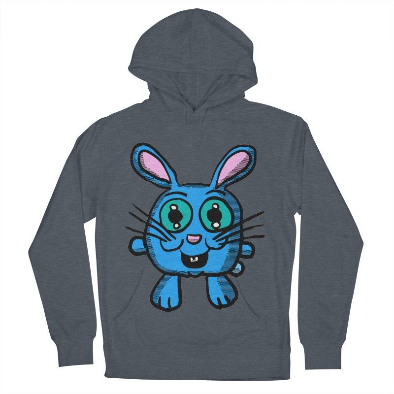 Chibi Blue Bunny Women's Pullover Hoody by ericallen's Artist Shop