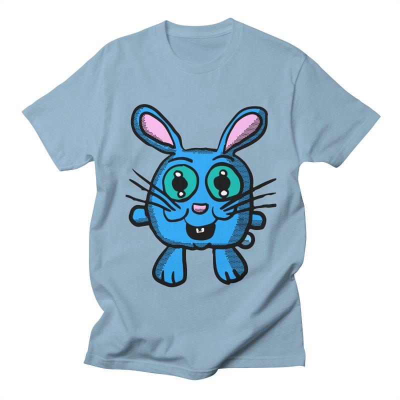 Chibi Blue Bunny Women's Unisex T-Shirt by ericallen's Artist Shop