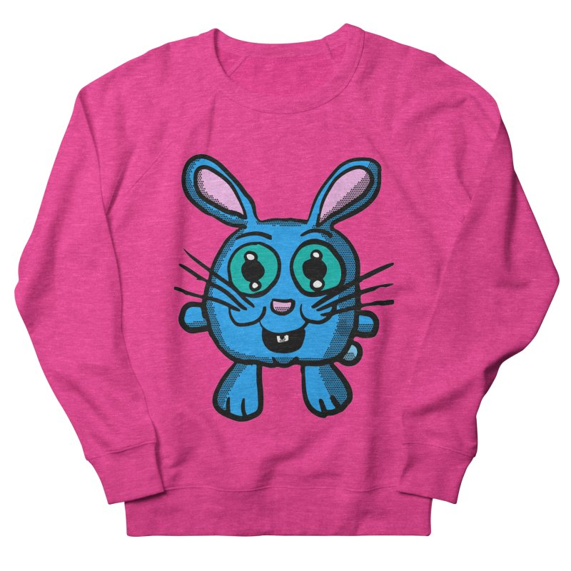 Chibi Blue Bunny Men's Sweatshirt by ericallen's Artist Shop