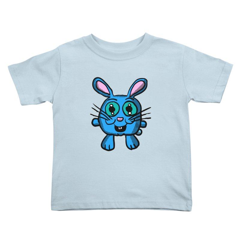 Chibi Blue Bunny Kids Toddler T-Shirt by ericallen's Artist Shop