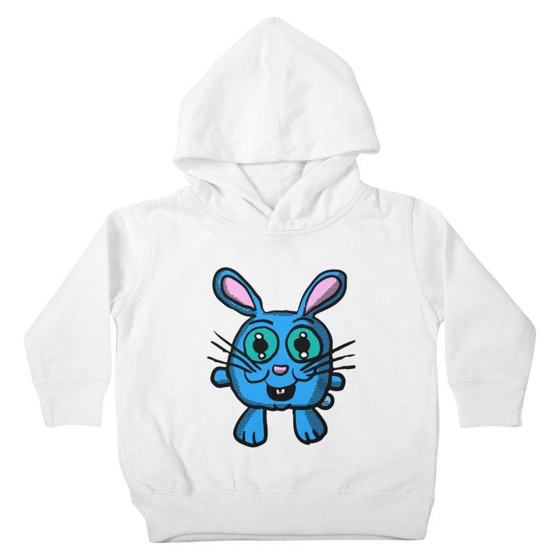 Chibi Blue Bunny Kids Toddler Pullover Hoody by ericallen's Artist Shop