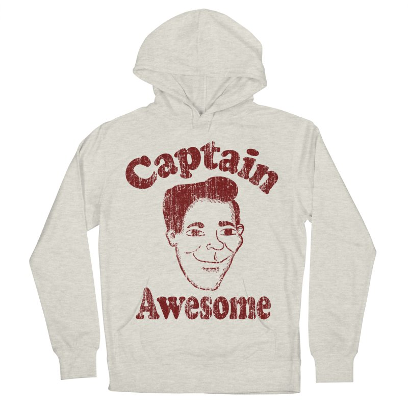 Vintage Captain Awesome Men's Pullover Hoody by ericallen's Artist Shop