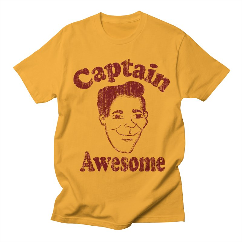 Vintage Captain Awesome Women's Unisex T-Shirt by ericallen's Artist Shop