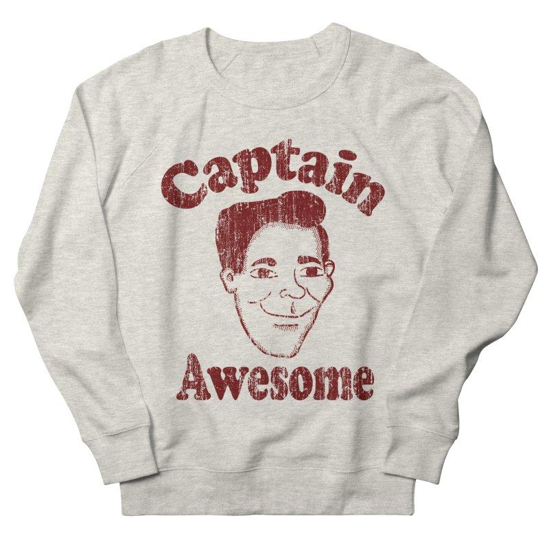 Vintage Captain Awesome Men's Sweatshirt by ericallen's Artist Shop