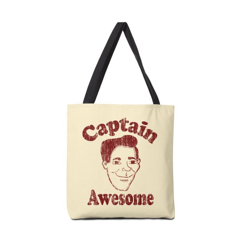 Vintage Captain Awesome Accessories Bag by ericallen's Artist Shop