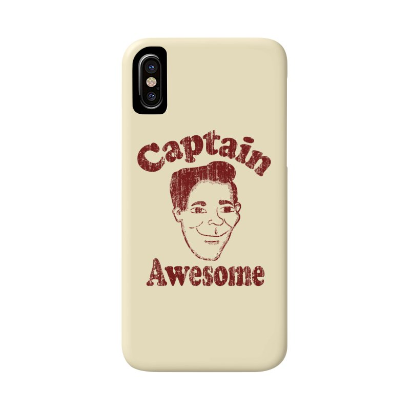 Vintage Captain Awesome Accessories Phone Case by ericallen's Artist Shop