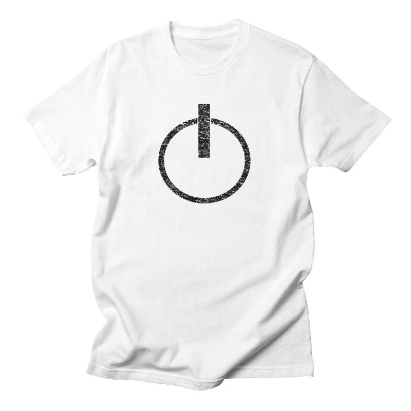 Vintage Power Symbol in Men's T-Shirt White by ericallen's Artist Shop