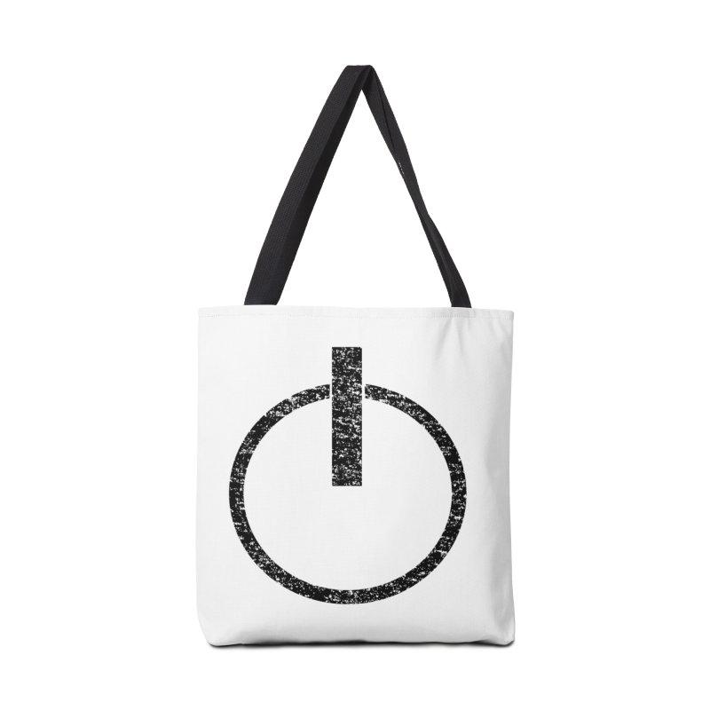 Vintage Power Symbol Accessories Bag by ericallen's Artist Shop