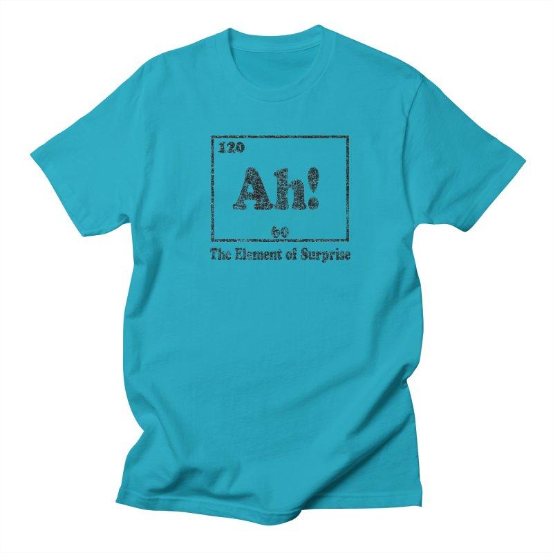 Vintage Ah! The Element of Surprise Women's Unisex T-Shirt by ericallen's Artist Shop