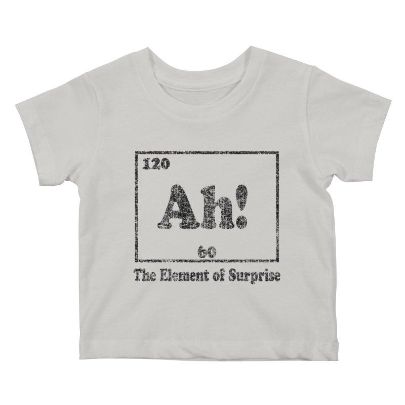 Vintage Ah! The Element of Surprise Kids Baby T-Shirt by ericallen's Artist Shop