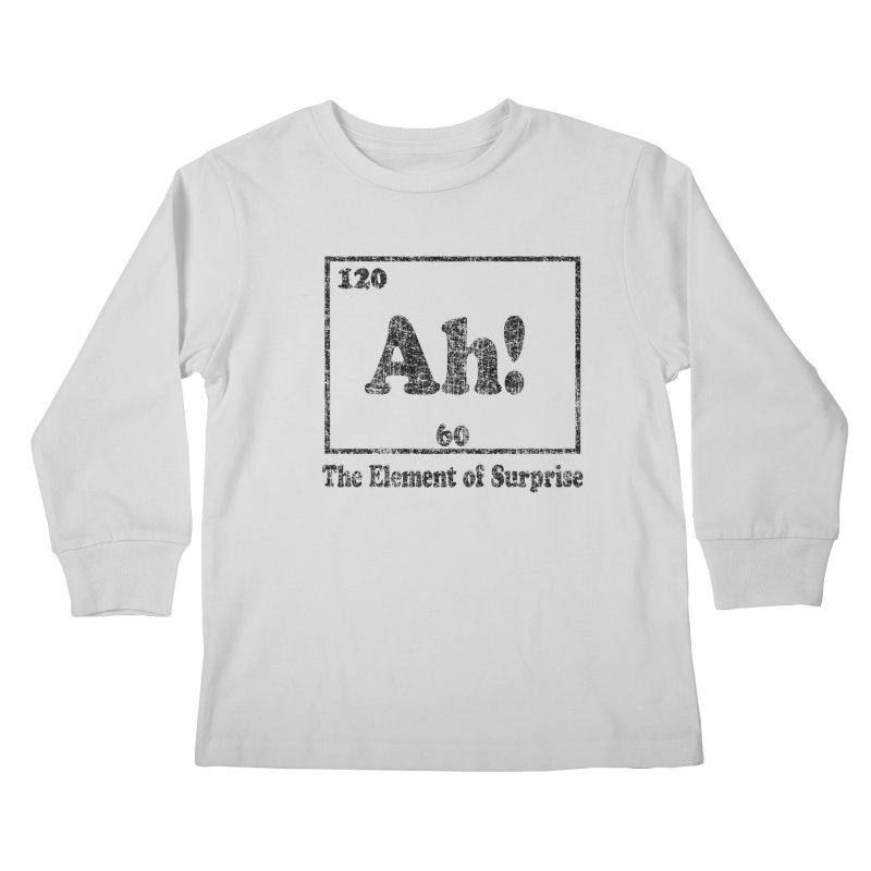Vintage Ah! The Element of Surprise Kids Longsleeve T-Shirt by ericallen's Artist Shop