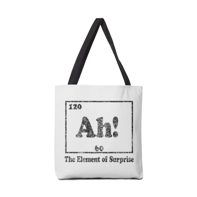Vintage Ah! The Element of Surprise Accessories Bag by ericallen's Artist Shop