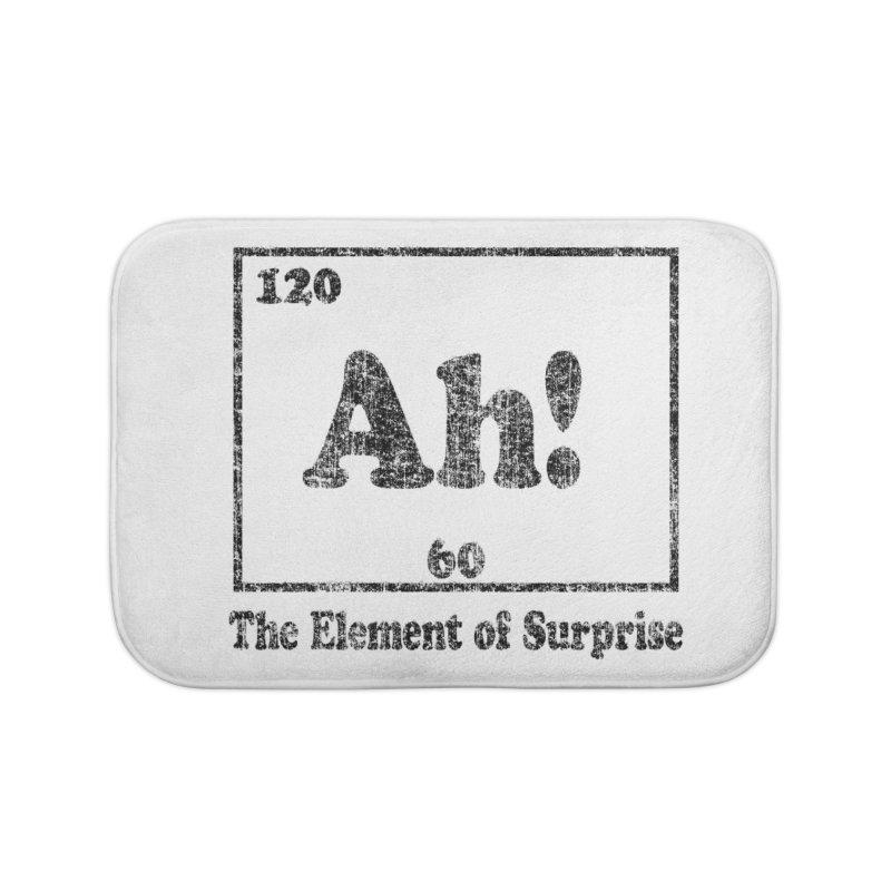 Vintage Ah! The Element of Surprise Home Bath Mat by ericallen's Artist Shop