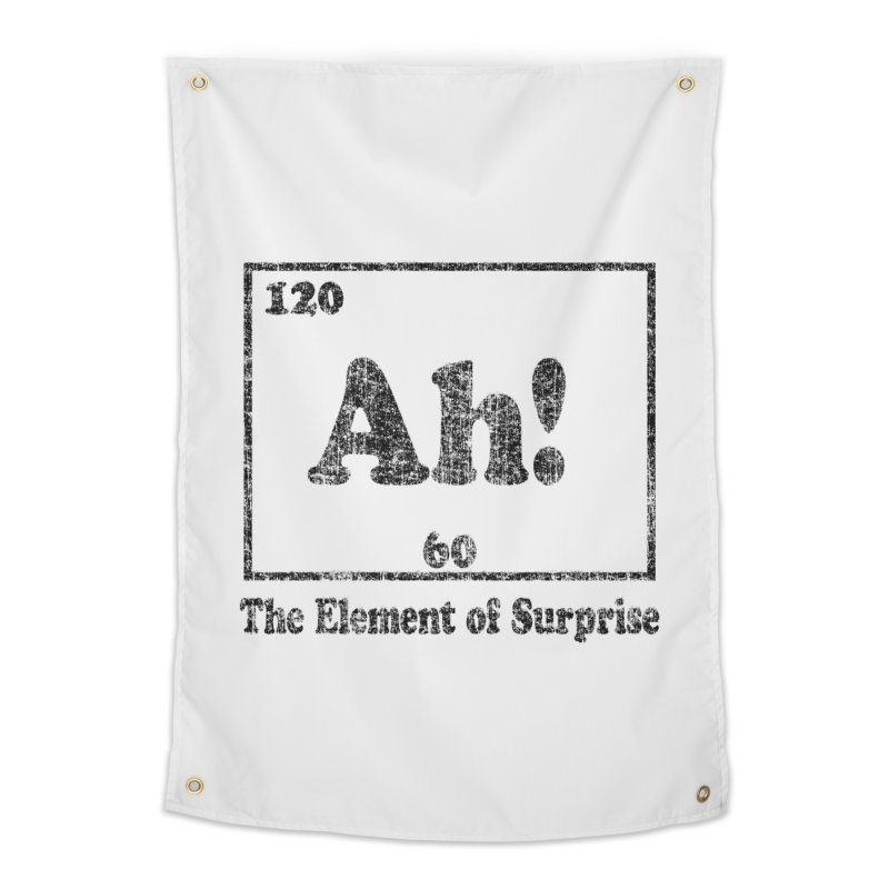 Vintage Ah! The Element of Surprise Home Tapestry by ericallen's Artist Shop