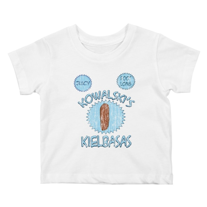 Vintage Kowalski's Kielbasas Kids Baby T-Shirt by ericallen's Artist Shop