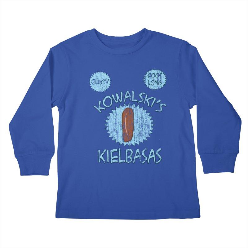 Vintage Kowalski's Kielbasas Kids Longsleeve T-Shirt by ericallen's Artist Shop