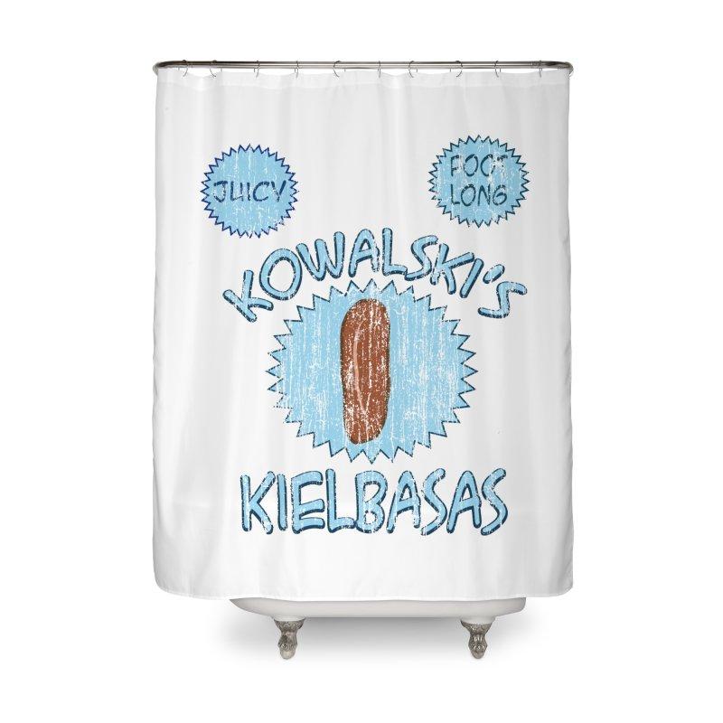 Vintage Kowalski's Kielbasas Home Shower Curtain by ericallen's Artist Shop