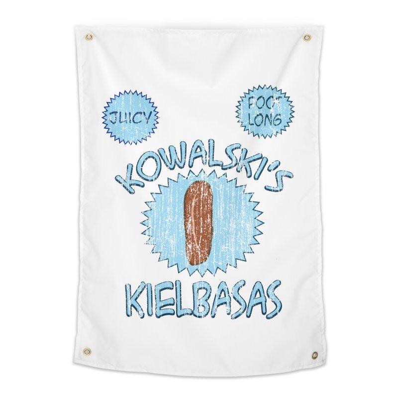 Vintage Kowalski's Kielbasas Home Tapestry by ericallen's Artist Shop