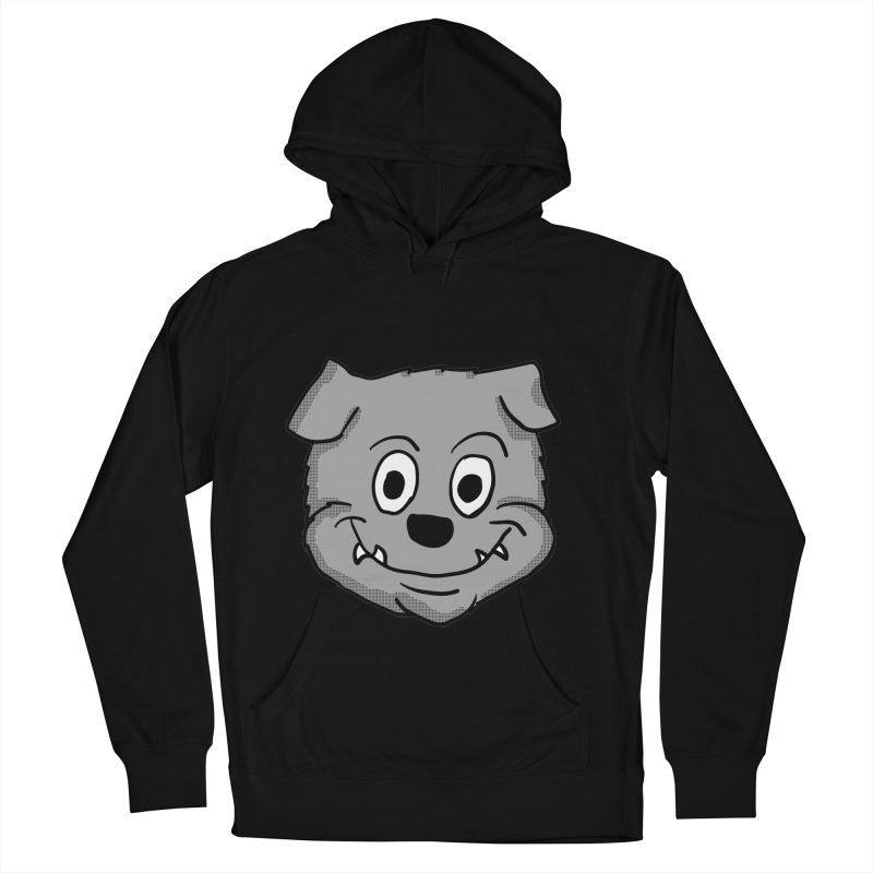 Cartoon Bulldog puppy head Men's Pullover Hoody by ericallen's Artist Shop