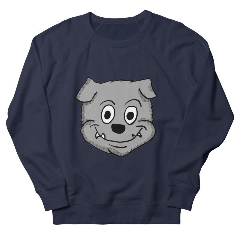 Cartoon Bulldog puppy head Men's Sweatshirt by ericallen's Artist Shop