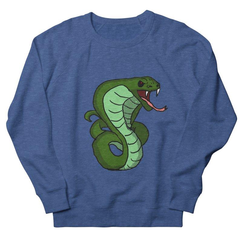 Cartoon Cobra Men's Sweatshirt by ericallen's Artist Shop