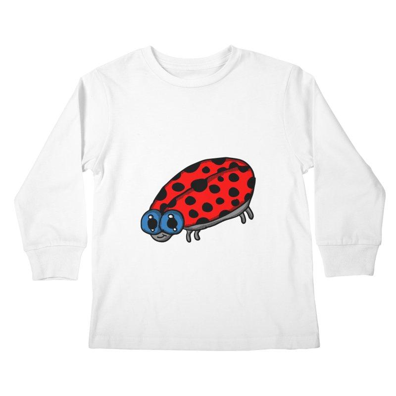 Cute Ladybug Kids Longsleeve T-Shirt by ericallen's Artist Shop