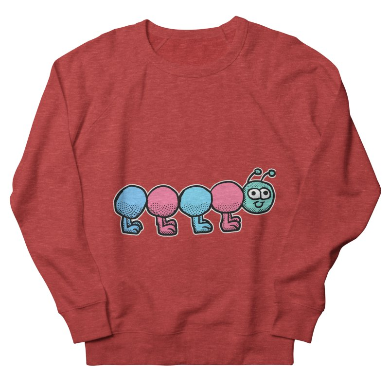 Cute colorful caterpillar Men's Sweatshirt by ericallen's Artist Shop