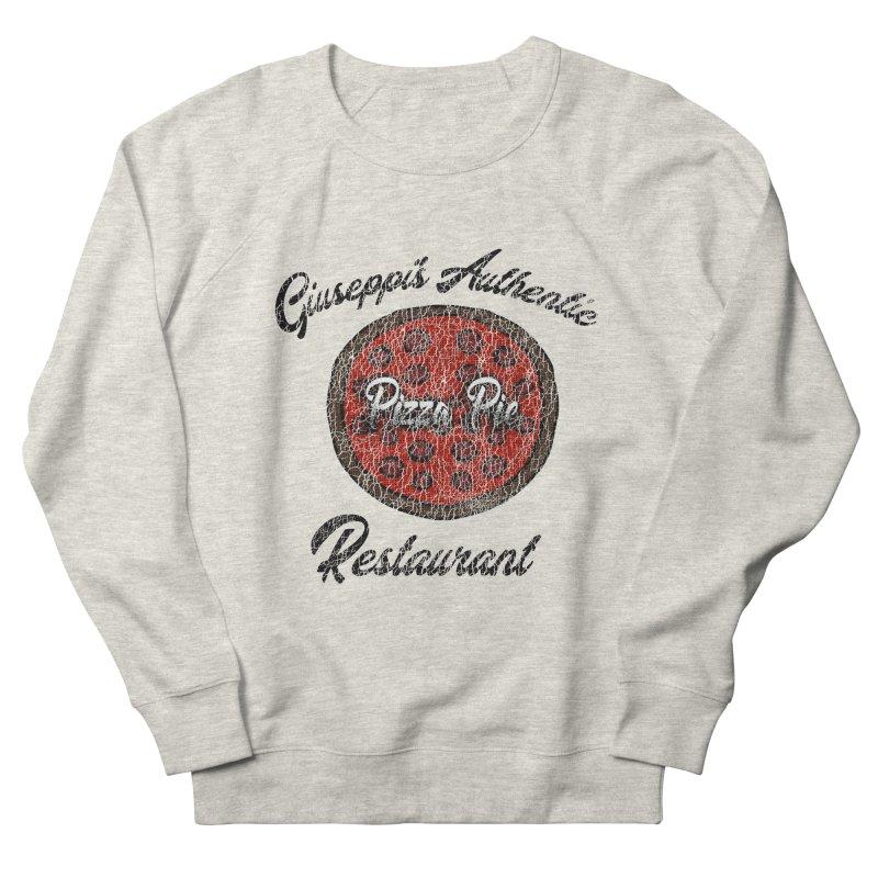 Vintage Giuseppi's Authentic Pizza Pie Restaurant Men's Sweatshirt by ericallen's Artist Shop