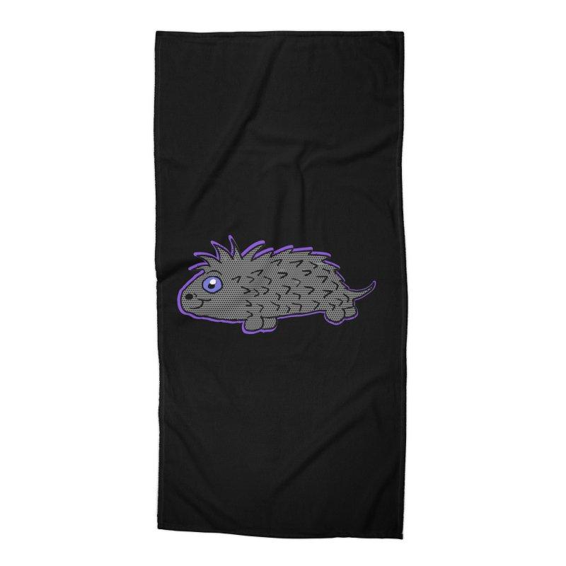 Cartoon Porcupine Accessories Beach Towel by ericallen's Artist Shop