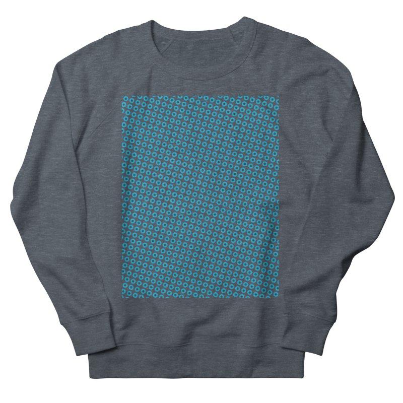 Blue dots pattern Men's Sweatshirt by ericallen's Artist Shop
