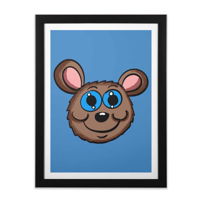 Cartoon Mouse Head Home Framed Fine Art Print by ericallen's Artist Shop