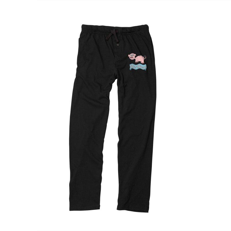 Eat Bacon Pig Men's Lounge Pants by ericallen's Artist Shop