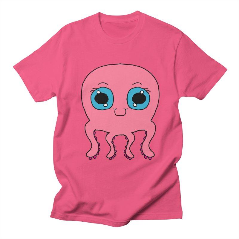 Chibi Pink Octopus Women's Unisex T-Shirt by ericallen's Artist Shop
