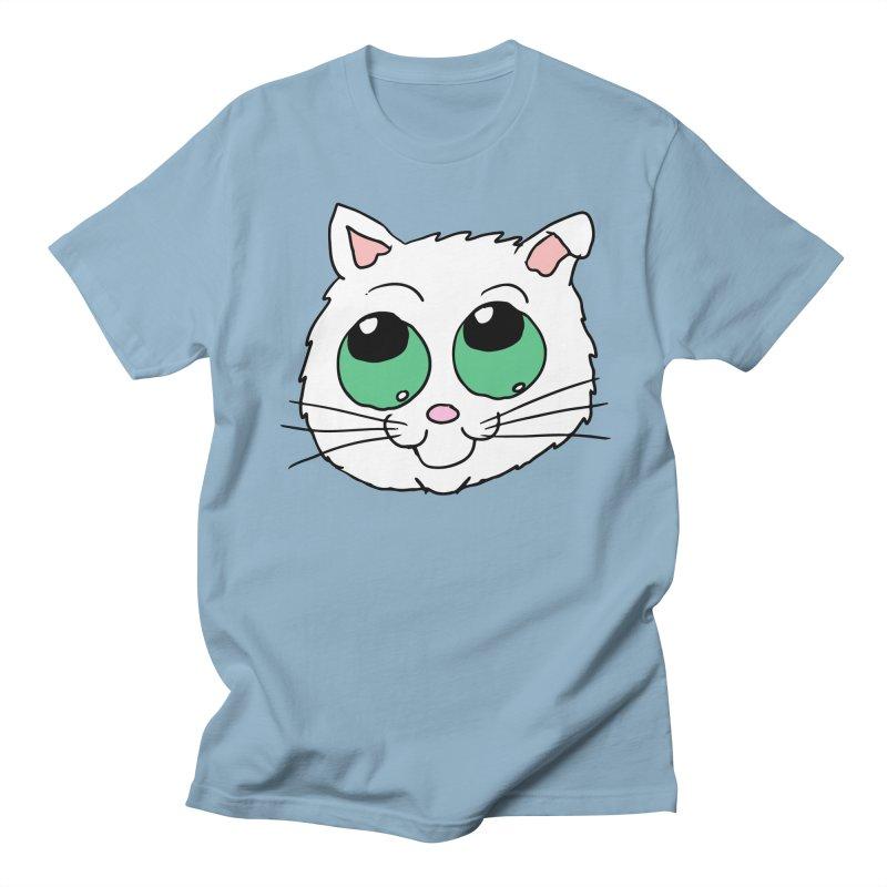 Green eyed Kitty Women's Unisex T-Shirt by ericallen's Artist Shop