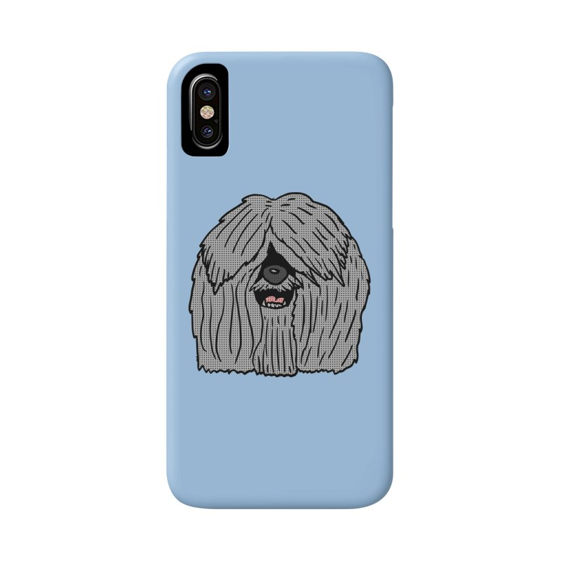 Sheepdog Head Accessories Phone Case by ericallen's Artist Shop