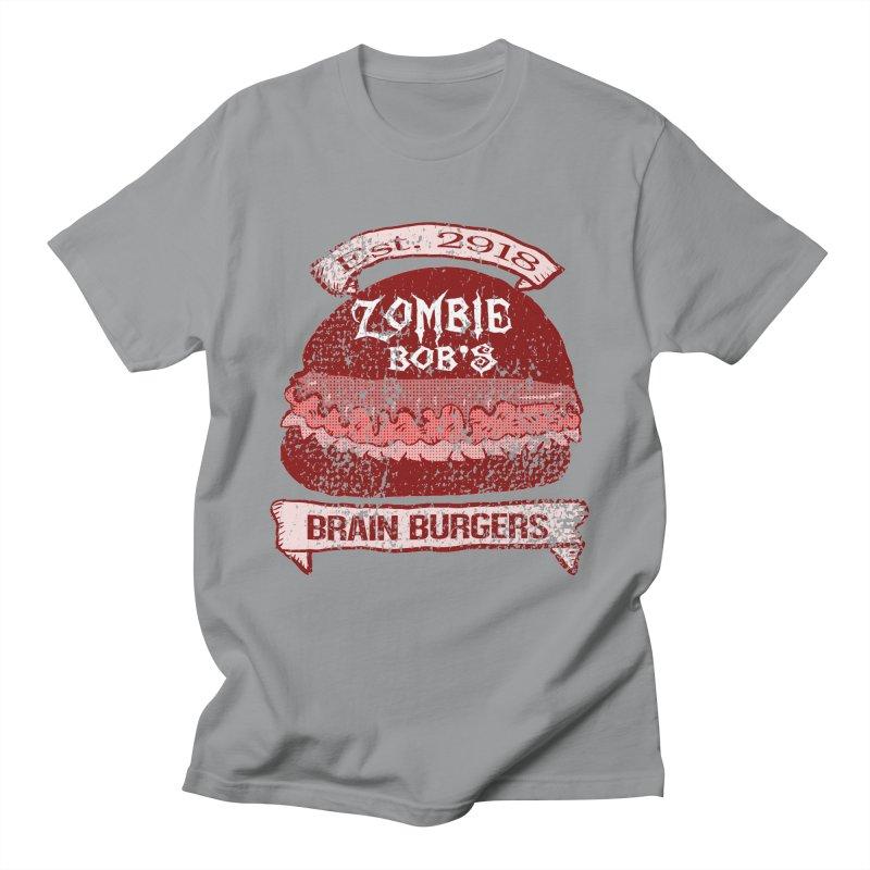 Zombie Bob's Brain Burgers (vintage) Women's Unisex T-Shirt by ericallen's Artist Shop