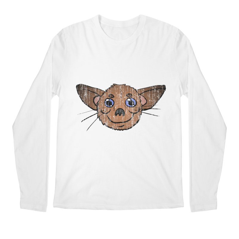 Chihuahua Head (vintage) Men's Longsleeve T-Shirt by ericallen's Artist Shop