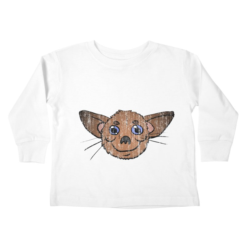 Chihuahua Head (vintage) Kids Toddler Longsleeve T-Shirt by ericallen's Artist Shop