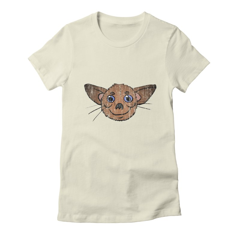 Chihuahua Head (vintage) Women's Fitted T-Shirt by ericallen's Artist Shop