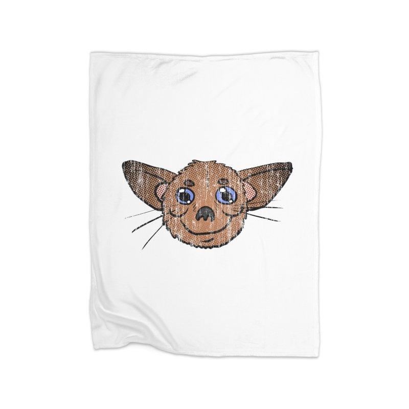 Chihuahua Head (vintage) Home Blanket by ericallen's Artist Shop