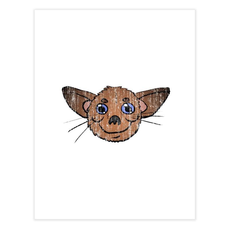 Chihuahua Head (vintage) Home Fine Art Print by ericallen's Artist Shop