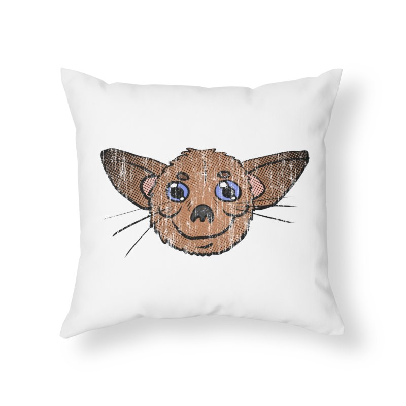Chihuahua Head (vintage) Home Throw Pillow by ericallen's Artist Shop