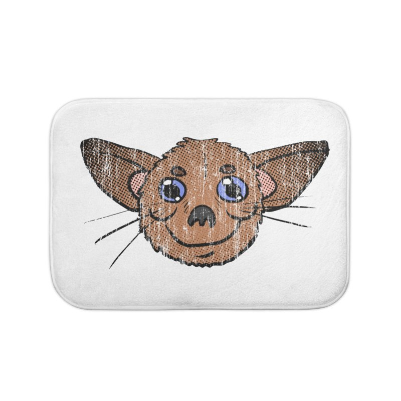 Chihuahua Head (vintage) Home Bath Mat by ericallen's Artist Shop